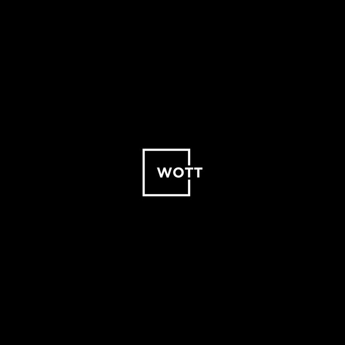 Create a logo to stand out with the word WOTT by ♥ calypso