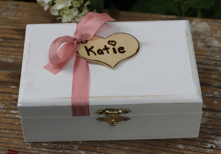 Rustic Bridesmaid Gift Box's