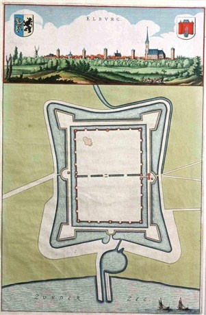 De binnengracht, Stad met een plan  Het stadsplan van Elburg is door de eeuwen heen veranderd. In het oorspronkelijke plan lag achter de stadsmuur de binnengracht. Dit verhaal en nog meer, kunt u beleven met de Layar-wandeling Elburg Stad vol Sporen van mijnGelderland.