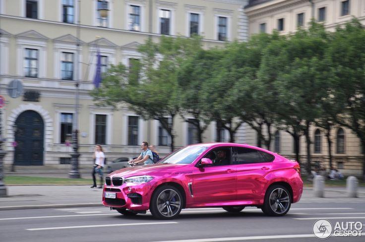 PInk BMW X6