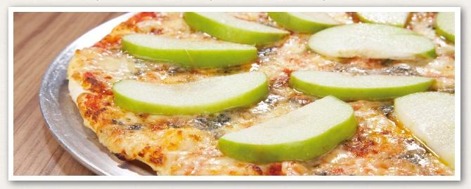 dos quesos con manzana