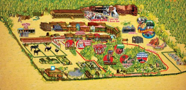 Mega Park Kansas City Miasteczko Westernowe Grudziądz