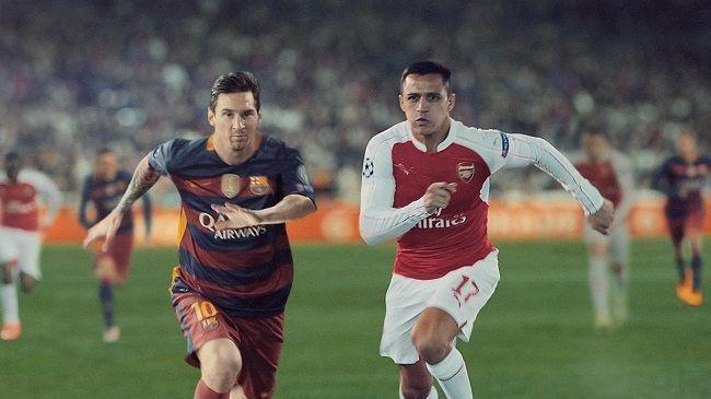 Messi, Hernanes, Philippe Coutinho, Alexis Sanchez, Andres Iniesta stali się dzięki Gatorade niezwyciężeni • Zobacz reklamę Gatorade >> #gatorade #football #soccer #sports #pilkanozna