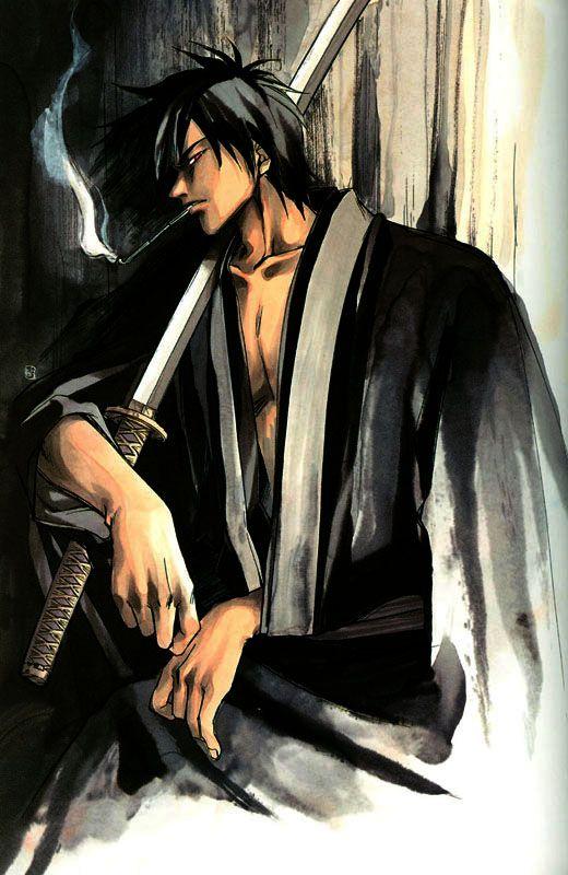 male Samurai Art | TJ's world of anime and art .....
