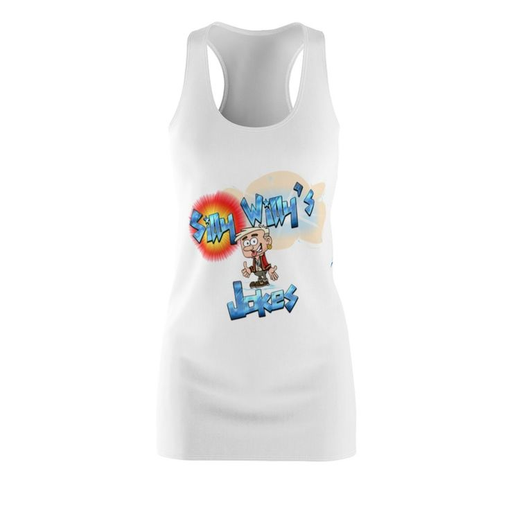 Silly Willy's Jokes Racerback Dress (Ships From US but read description)
