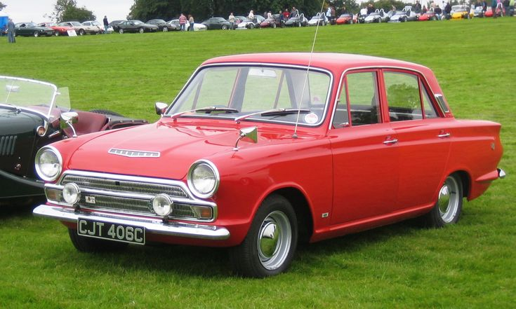 Aww. (1965 Ford Cortina MkI)
