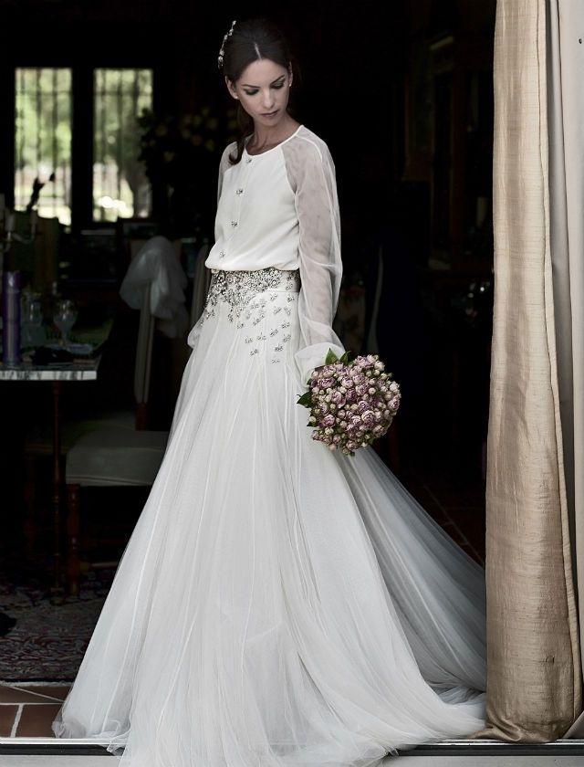 El vestido de novia de Mercedes Peralta, el que marcó la carrera de Roberto Diz
