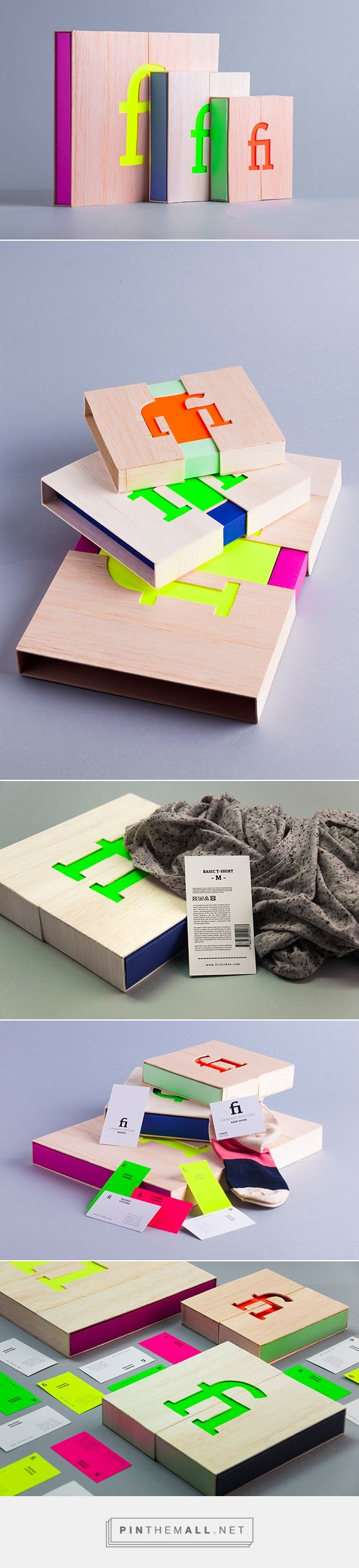 Fi Clothing on Behance by Demecs Fanni - created #packaging via http://pinthemall.net