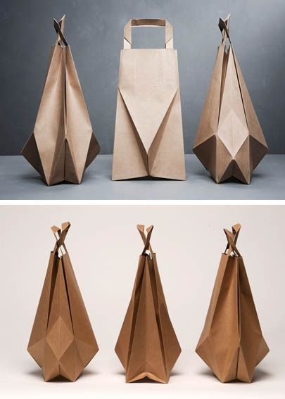 оригами сумка пакет