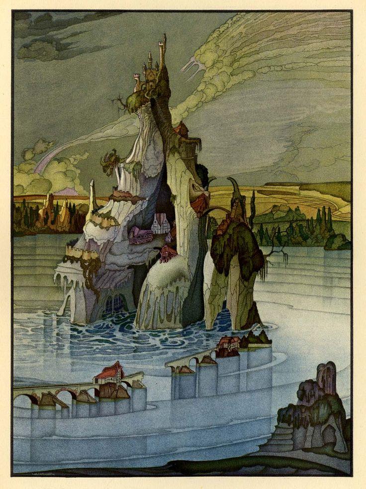 citrussucker:  Tales of Hoffmann illustrated by Mario Laboccetta.