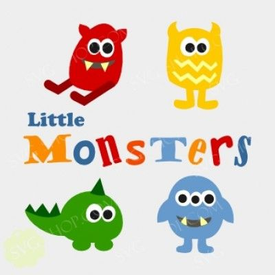 how to draw cute little monsters