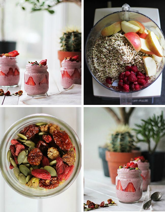 Wholehearted Eats : Berry Buckwheat Porridge with Red Berry Boost