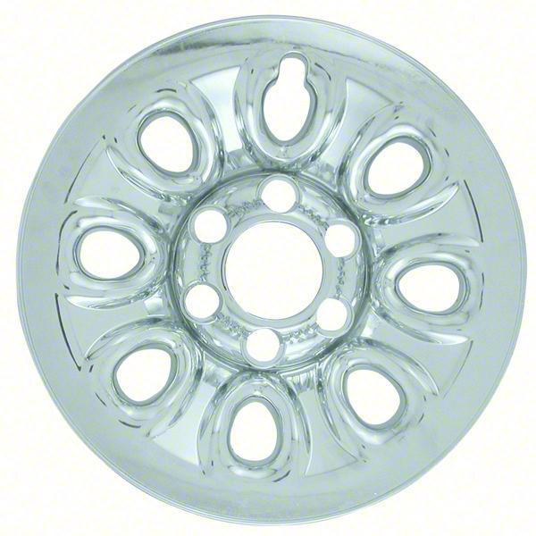 "Chevrolet GMC Silverado Tahoe Sierra Yukon Chrome Wheel Skins / Hubcaps / Wheel Covers 17"" 8069 2004 2005 2006 2007 2008 2009 2010 2011 2012 2013 2014 SET OF 4  #Hubcaps #WheelCovers"