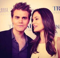 Paul Wesley & Torrey Devitto -  The Vampire Diaries