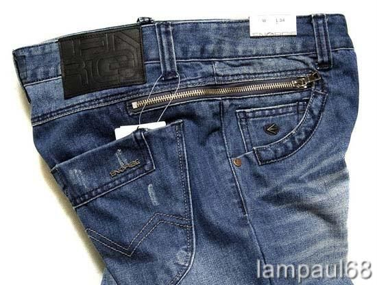 BNWT ENERGIE Washed DENIM JEANS #100 Mens Size 34