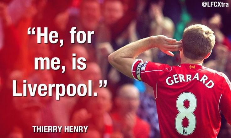 Thierry Henry on Steven Gerrard