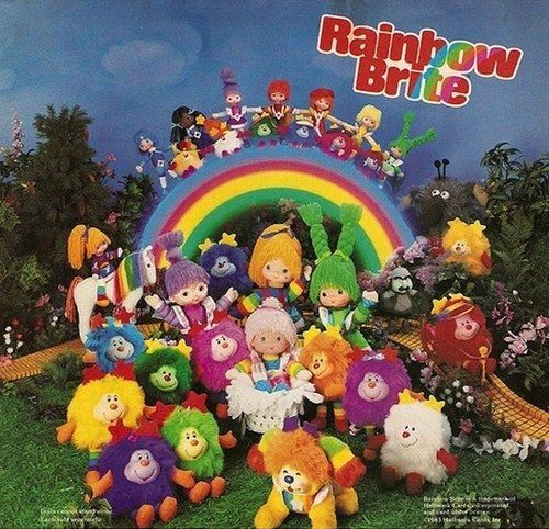 Rainbow Brite Dolls | 35 Awesome Toys Every '80s Girl Wanted For Christmas