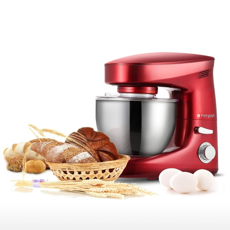 6L Kitchen Stand Mixer Dough Mixers 1200W Sales Online h16734 - Tomtop.com