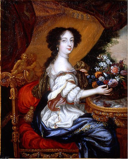 """Barbara Palmer, 1st Duchess of Cleveland: Known as Lady Castlemaine, was an Englishcourtesanand perhaps the most notorious of the manymistressesof KingCharles II of England, by whom she had five children, all of whom were acknowledged and subsequently ennobled. Her influence was so great that she has been referred to as """"The Uncrowned Queen."""""""