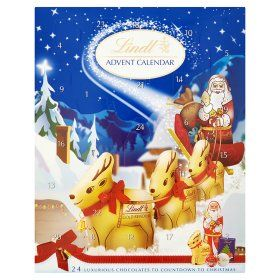 Lindt Advent Calendar 24 Luxurious Chocolates