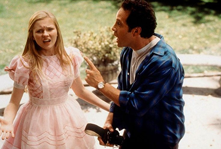 Kirsten Dunst and Steve Guttenberg in Tower of Terror (1997)