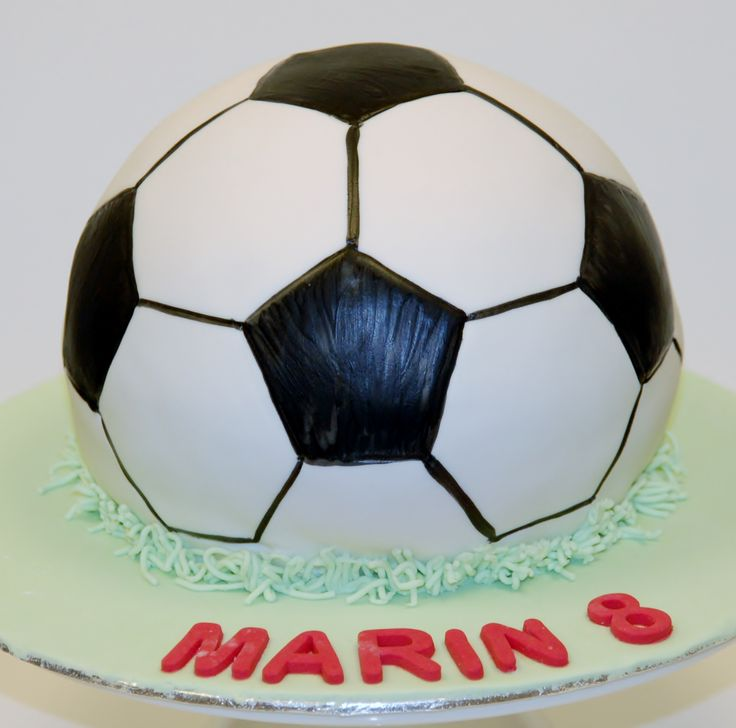voetbal cake