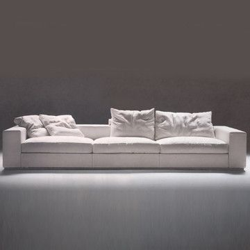 Shop Switch Modern For Modern Sofas From Flexform   The Groundpiece Sofa By  Antonio Citterio Is A Contemporary Upholstered Couch With A Simplistic  Design