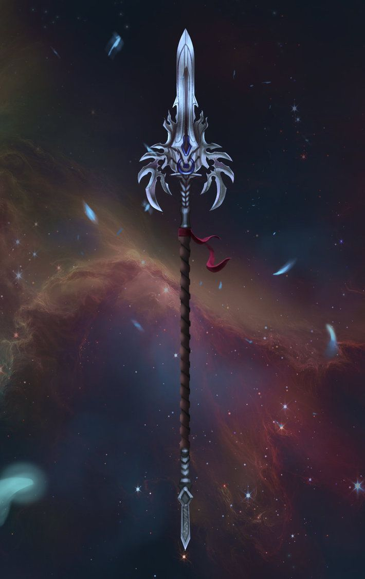 Mythril Spear by Mikedeangelo deviantart com on @DeviantArt
