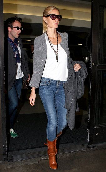 Gwyneth Paltrow Fashion Picture at LAX