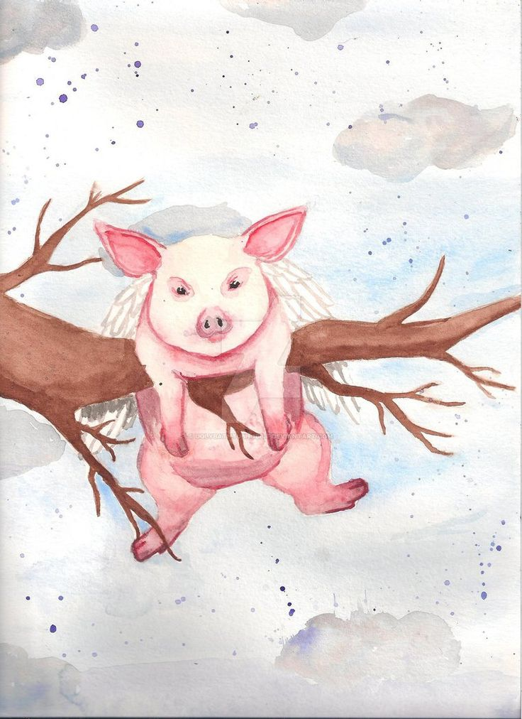 When Pigs Fly by Ugly BathTub Hobbit