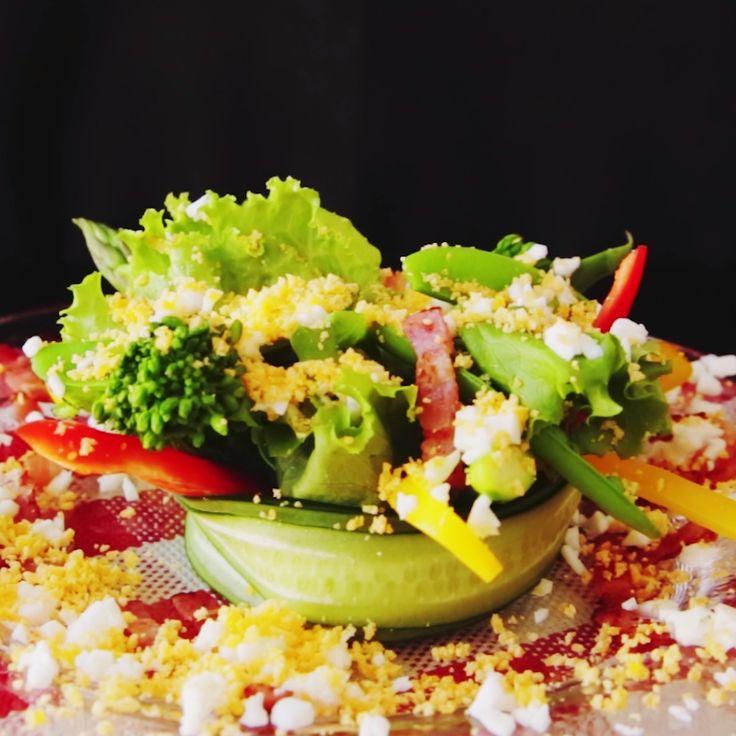 How to make Mimosa Salad.