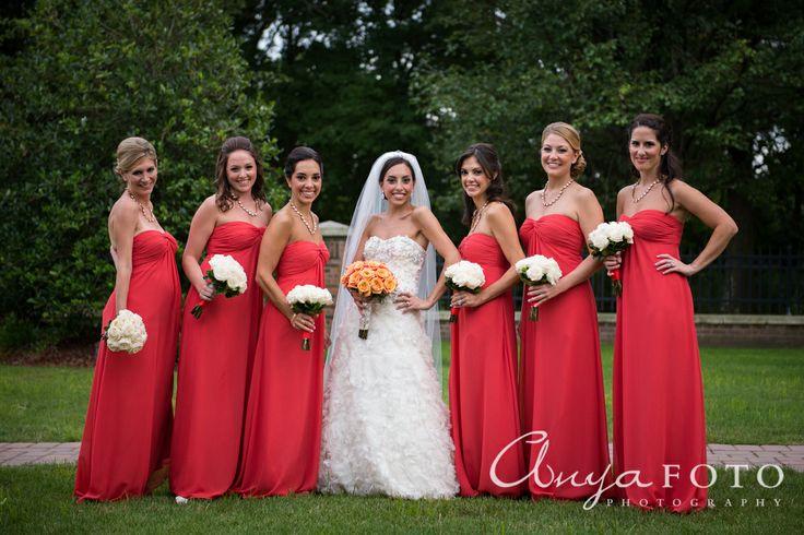 anyafoto.com, bridesmaids, bridesmaid dresses, pink bridesmaid dresses, long bridesmaid dresses, chiffon bridesmaid dresses