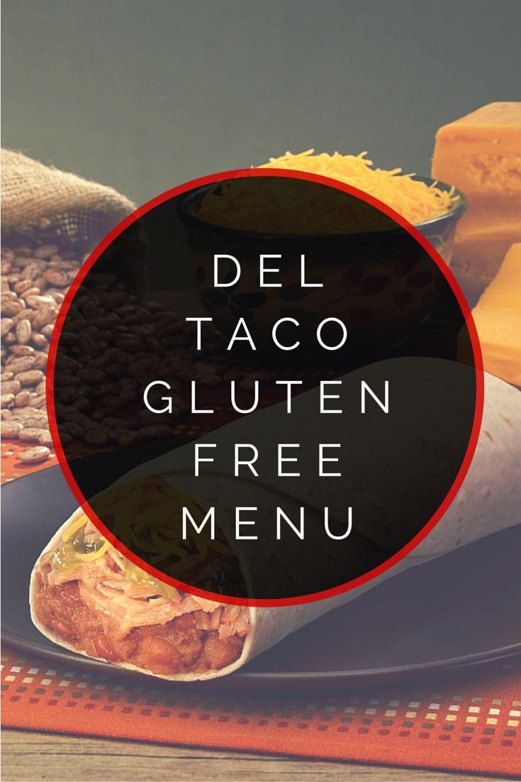 Del taco gluten free menu tacos gluten free menu and gluten