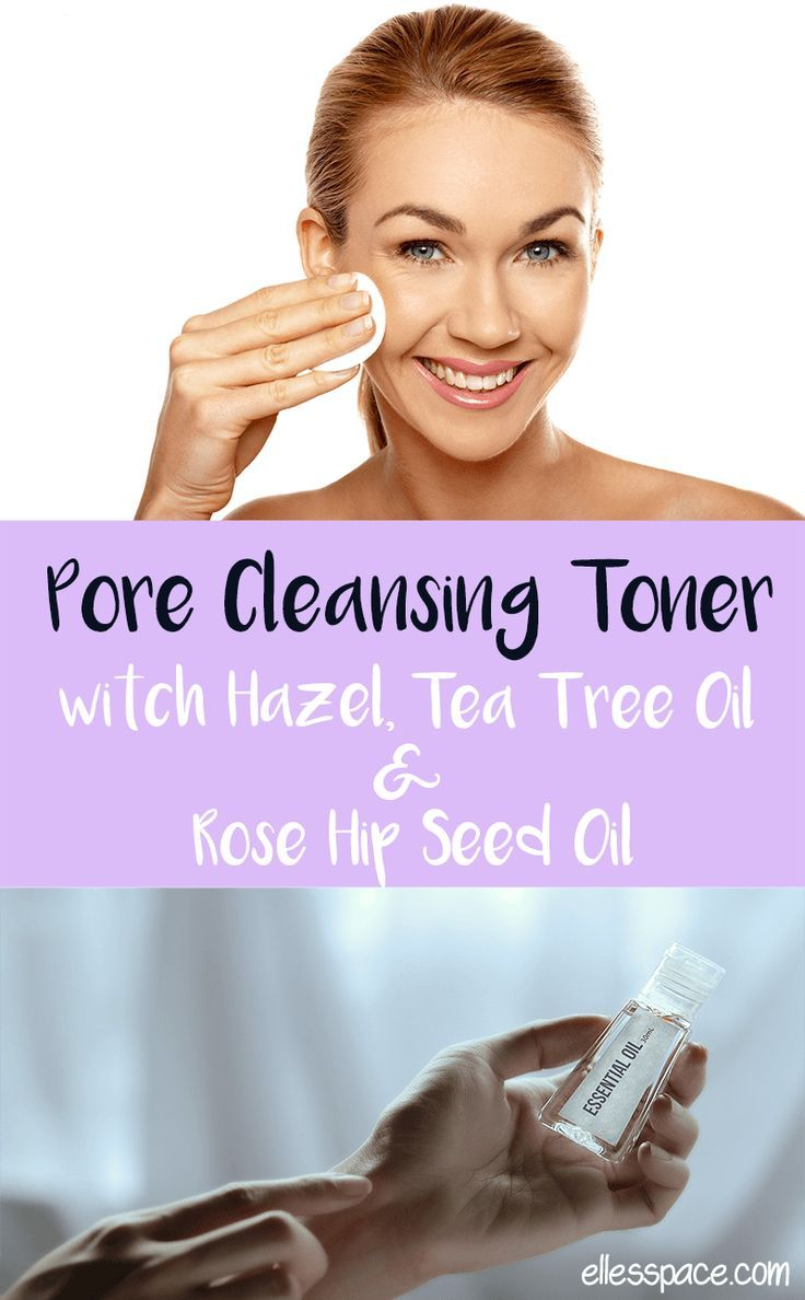 Pore Cleansing Toner Witch Hazel Tea Tree Oil