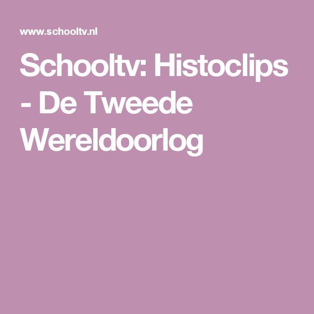 Schooltv: Histoclips - De Tweede Wereldoorlog