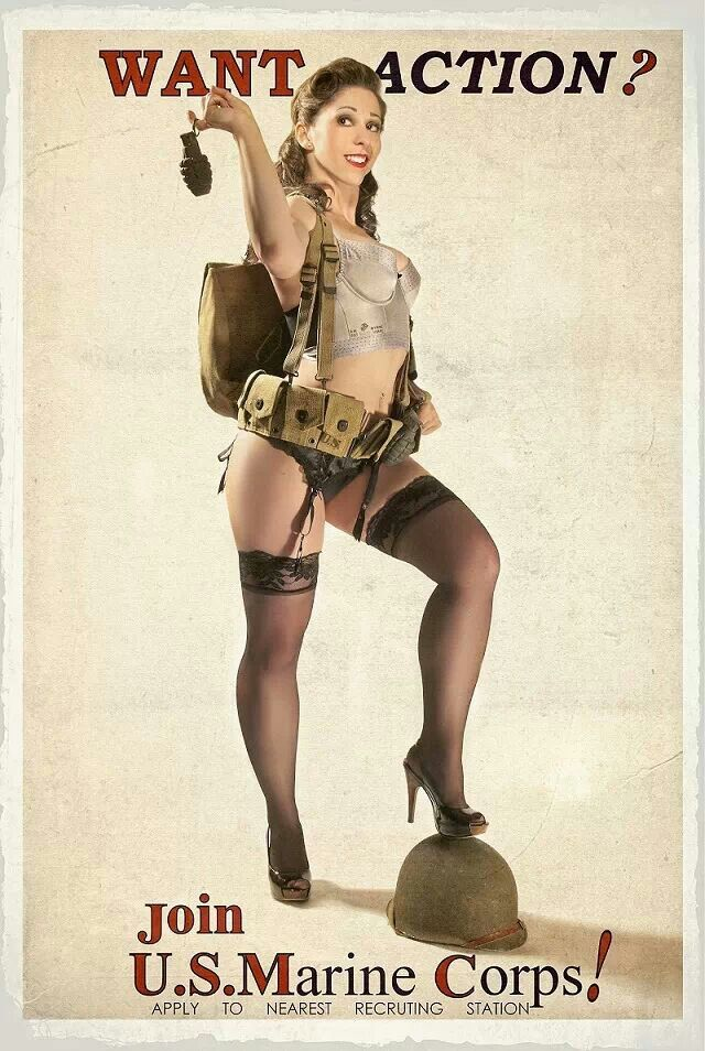 Join the MARINES | Pinups | Pinterest | Military pins, Pin ...