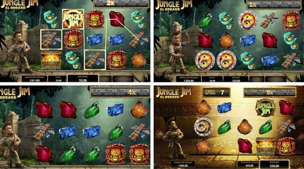 Jungle Jim El Dorado Slot Has Two Bonus Rounds And A Fixed Jackpot