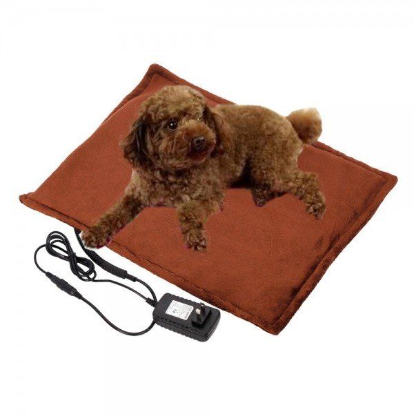 Let your pets know that you are helping them live healthier and happier lives. In cold winter, a heated bed pad is a must-have for your pet to sleep comfortably at the end of the day. What about this Safe Heated Warmer Bed Pad for Dog Cat/Reptile Pet. It
