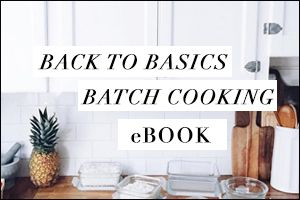 Batch Cooking Ebook | Nutrition Stripped