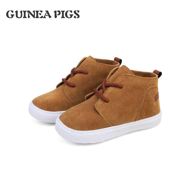 Children's Suede Boys Girls Recreational Shoe Fashion Popular Leisure Short kids Boots