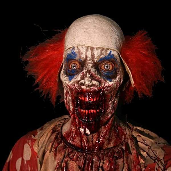 halloween horror clown makeup