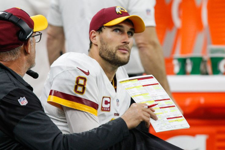WATCH: Redskins' Kirk Cousins almost destroys official's manhood = [video] Washington Redskins quarterback Kirk Cousins has been known to get excited a time or two, which explains the fact that an official during Sunday night's game just feared for his manhood after the 'Skins punched in a fourth quarter touchdown.....