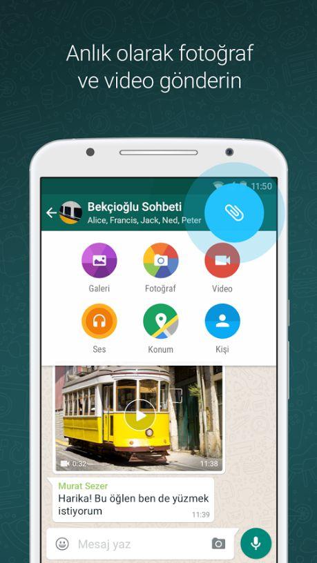 Whatsapp APK indir (Sürekli Güncel Son Sürüm)