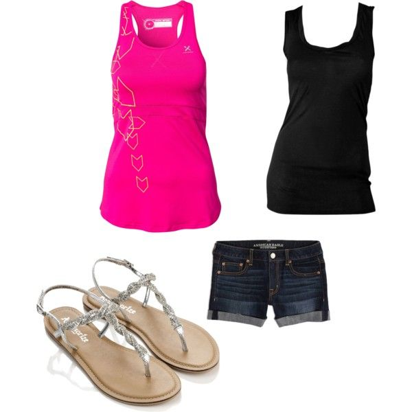 """Hot lazy days"" by haileyrobins on Polyvore"