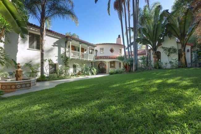 See inside Tyra Banks' 1920's Spanish Colonial-style home: The 6,000 square foot Beverly Hills property was built in the 1920s in a Spanish Colonial style. Image credit: Sotheby's International Realty