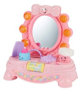 Fisher-Price Laugh & Learn Magical Musical Mirror The Magical Musical Mirror has many fun activities for your little one. This musical mirror has 2 modes: learning and music. http://bit.ly/13qBfm6