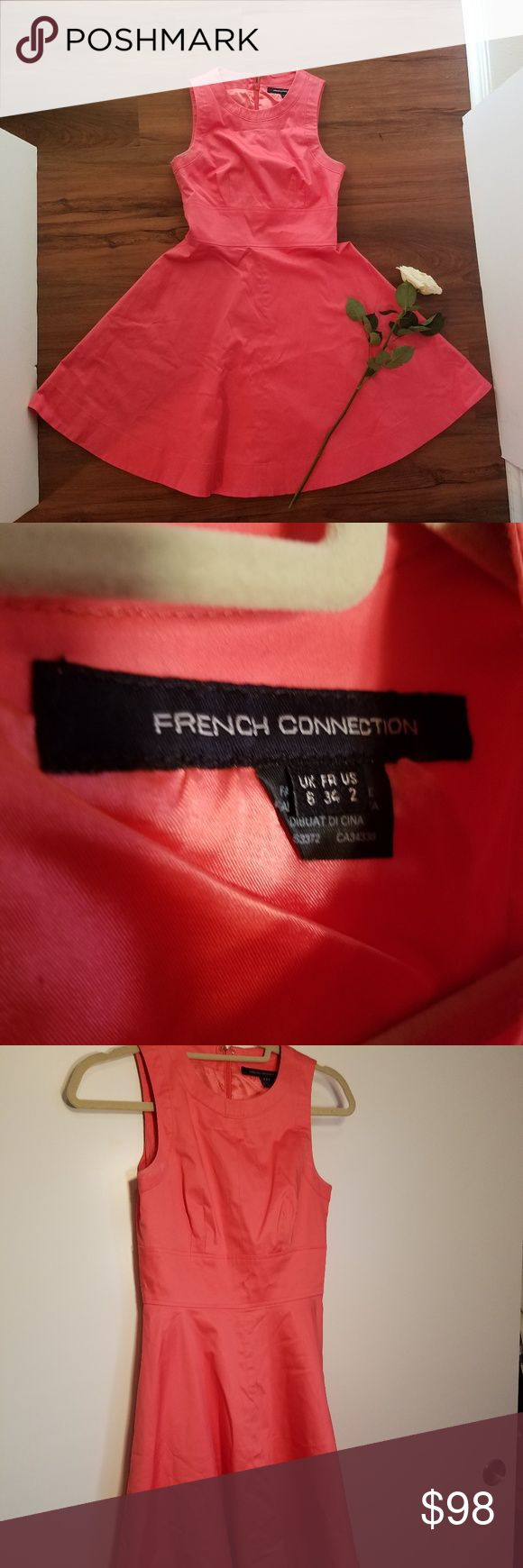 French Connection Pink Dress, Size 2