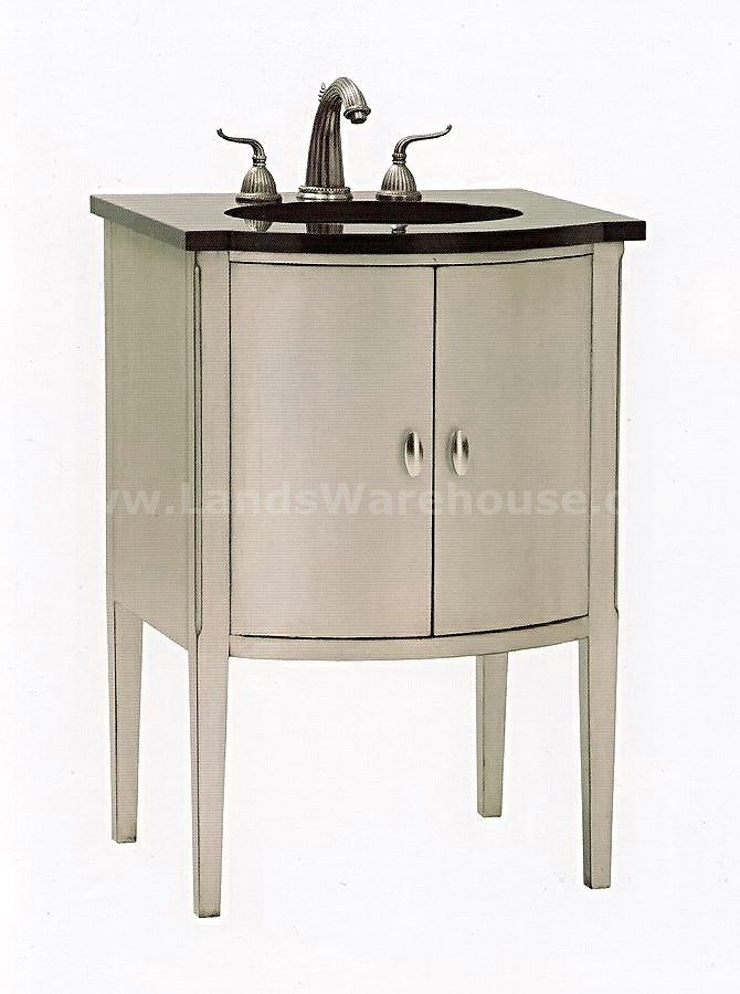 Sterling Bowfront Petite Bathroom Vanity 08939 110 102 By Ambella Home