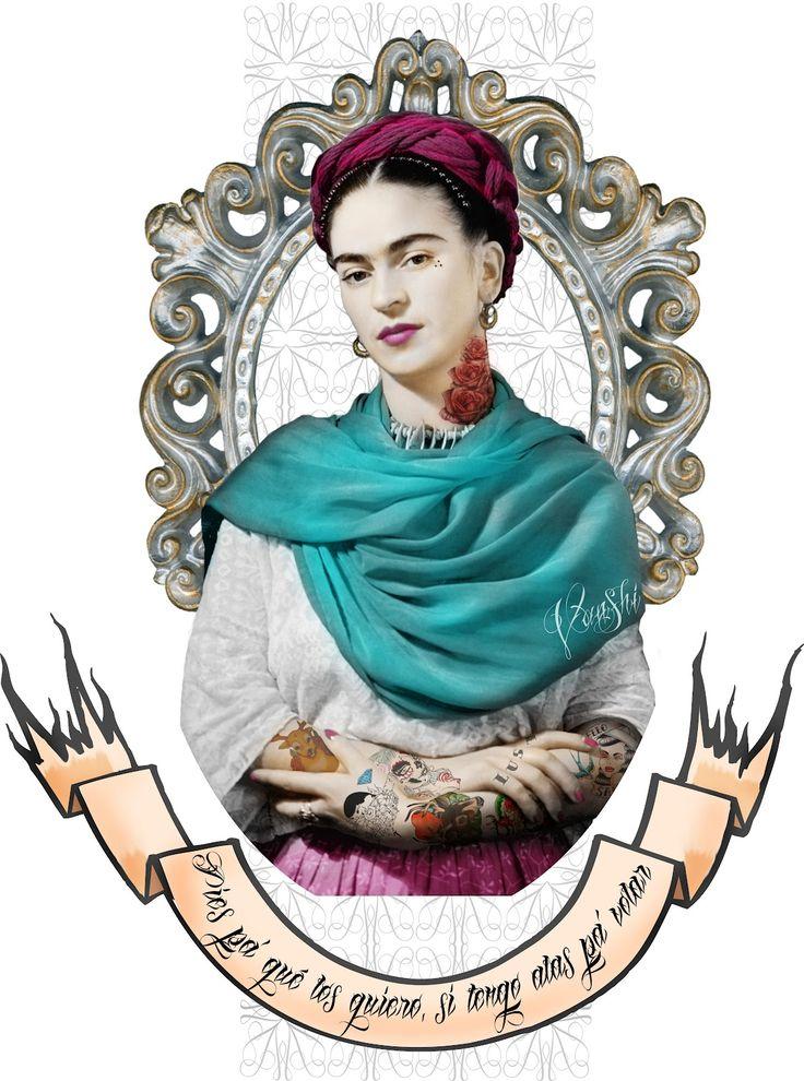 frida kahlo ilustracion - Buscar con Google