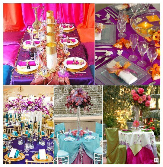decoration mariage oriental indien bollywwod 1001 nuits